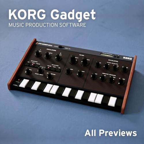 KORG Gadget All Previews (KORG Gadget Official Selection)