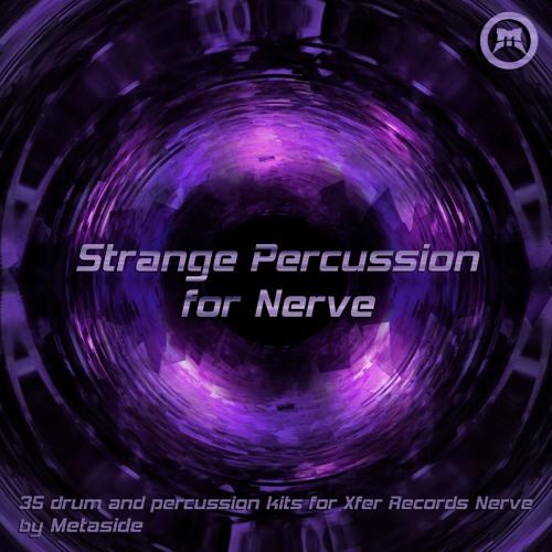 Strange Percussion for Nerve [Audio Demo]