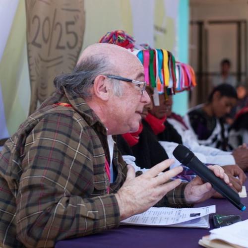 Gonzalo Ituarte, Vicario de Justicia y Paz de la Diócesis de SCLC