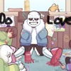 Asriel X Chara & Frisk X Sans - I Do Love You -Requested By- Wolfie Turtle-