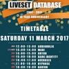 Liveset Database 10 year anniversary (Oryon Mix)