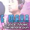 Aauna he maya (Male) || vocal: Uttam magar || Lyrics/Music: Devendra pun|| Nepali song 2017