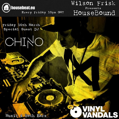 Wilson Frisk Presents HouseBound - Chino Vv Guest Mix
