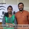 World Theatre DayThe Potentiality of Poetry in Kannada Theatre play RJ Priyanka & Beluru Raghunandan