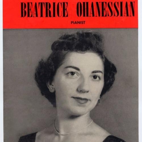 Beatrice Ohanessian, an Iraqi-American Musical Pioneer