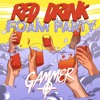 RED DRINK FOAM PARTY