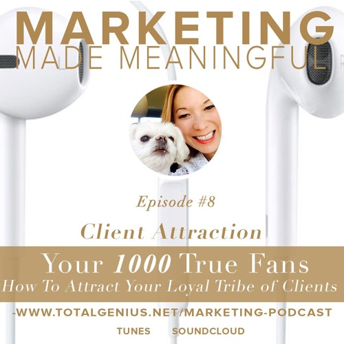 Episode #9 - Your 1000 True Fans - How To Attract Your Loyal Tribe of Clients