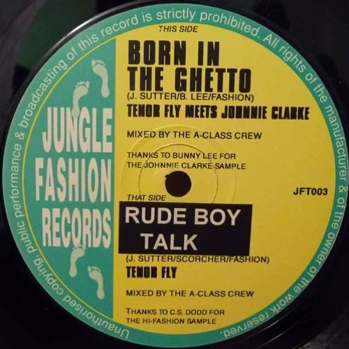 Tenor Fly - Rudeboy Talk Jungle dub - SWST