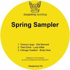 DJ119 Spring Sampler Soundcloud Preview