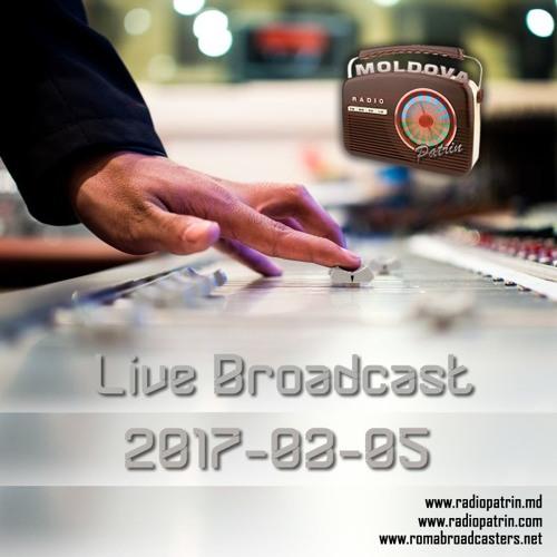 Radio Patrin Moldova - Live Broadcast 2017-03-05
