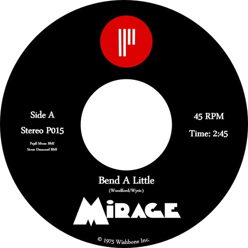 Mirage - Bend A Little - Killer blue eyed soul -  Previously unreleased!