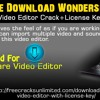 Free Download Wondershare Video Editor Crack