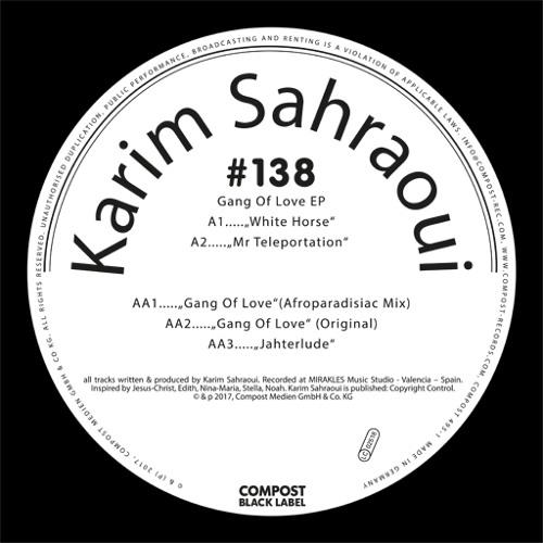 PREMIERE : Karim Sahraoui - White Horse [Compost]