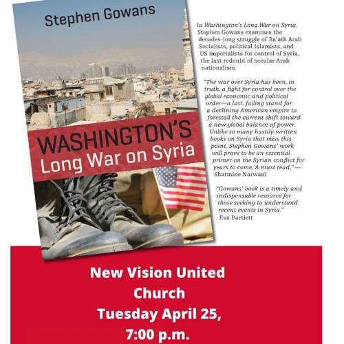 Robin Philpot on Stephen Gowans' New Book