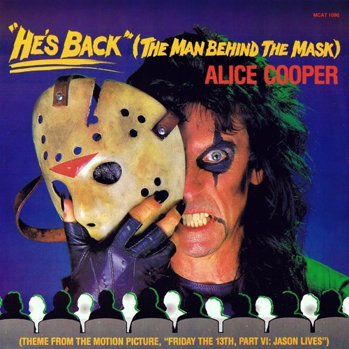 Cover Of Alice Cooper He S Back The Man Behind The Mask By Regis Tagli