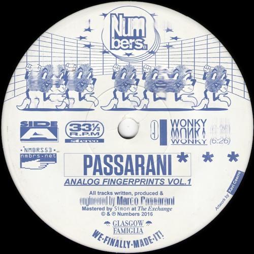 Passarani – Wonky Wonky Wonky