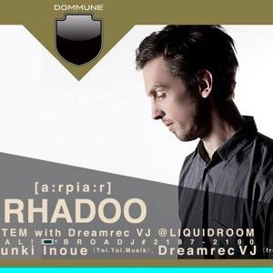 Rhadoo at Dommune | 31.03.2017