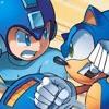 (APRIL FOOLS!!!) Sonic Vs Mega Man. Red Kirby Rap Battles #2 (feat. Its Crazy)