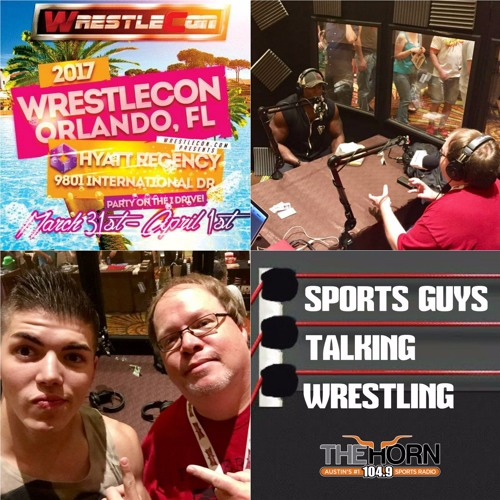 SGTW at WrestleCon 4-1-2017