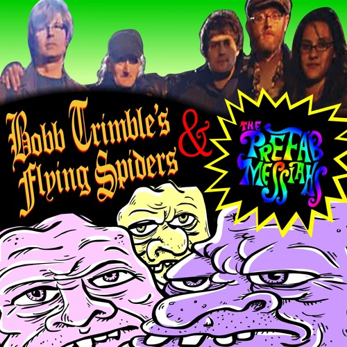 Bobb Trimble's Flying Spiders - Armour Of The Shroud (Live / Mono mix)