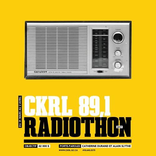 Radiothon 2017 - 1h avec Dorothée Berryman