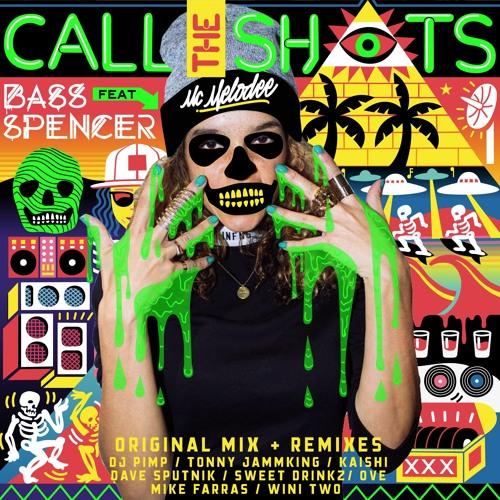 """feat. Mc Melodee """" Call the shots"""" (original + remixes)"""