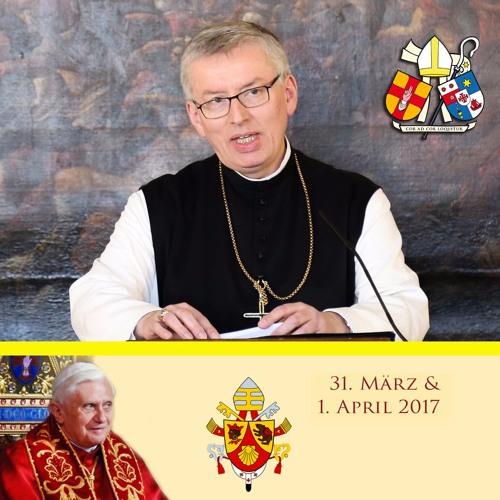 Abt Maximilian Heim OCist - Hommage an Papst em. Benedikt XVI