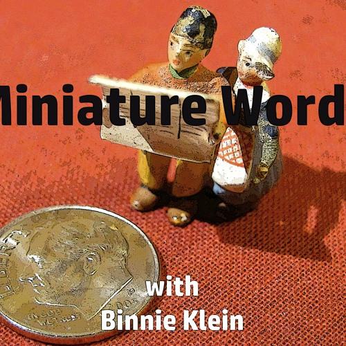 "Miniature Words with Binnie Klein ""Why Men Don't Use Umbrellas"""