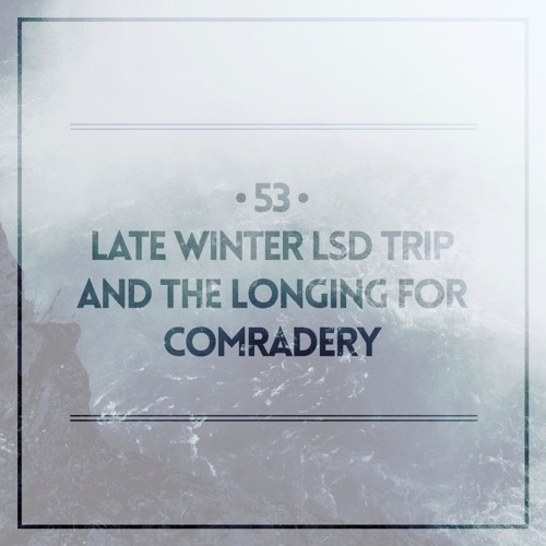 #53 | Late Winter LSD Trip and The Longing For Comradery