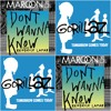 Maroon 5 Vs Gorillaz - Don't Wanna Know Tomorrow (Mashup)