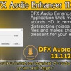 .DFX Audio Enhancer 11.112  .mp3