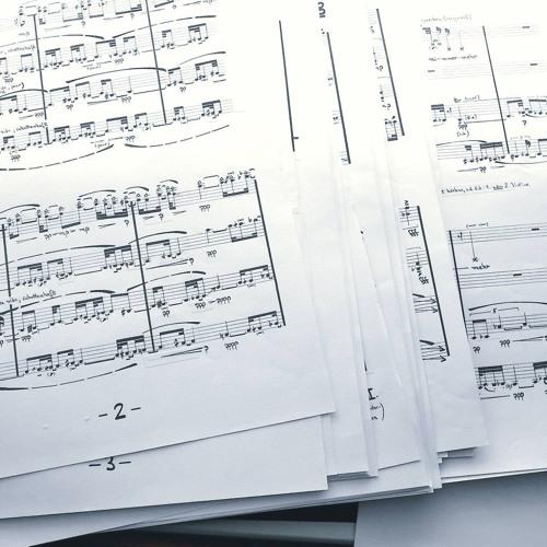 """String Quartet II, """"Von der Liebe zur Linie"""", Excerpts"""