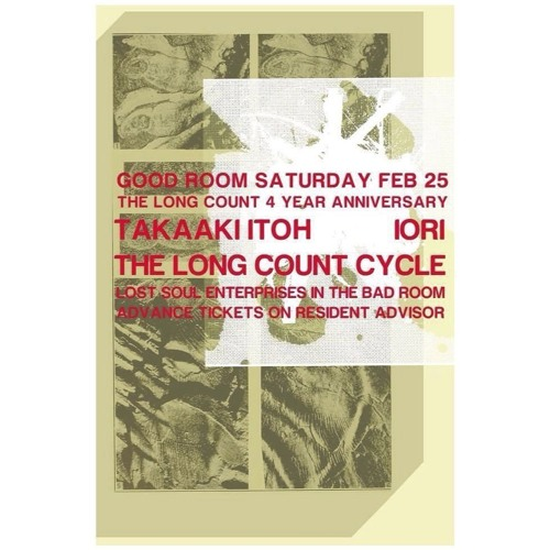 Takaaki Itoh Live at Long Count 4 Year Anniversary.Good Room NY 25.Feb.2017