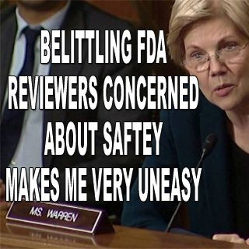 Warren Goes After Gottlieb Regarding Drug Safety
