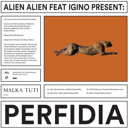 Premiere: Alien Alien feat. Igino - Bella L'Estate (Naduve Remix) [Malka Tuti]