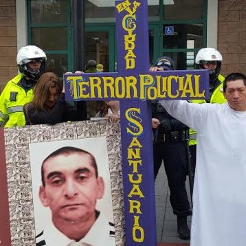 March in San Francisco in Memory of Luis Gongora Pat, Killed by SFPD Last Year