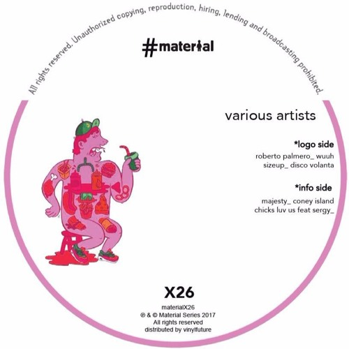 Roberto Palmero - Wuuh ( Material ) Vinyl + Digital