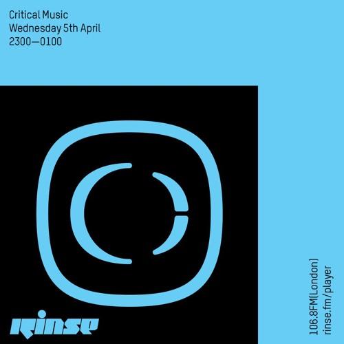 Critical Sound No.41 | RInse FM | Foreign Concept & Halogenix | 05.04.2017