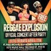 PAUL MICHAEL'S SEGMENT AT THE REGGAE EXPLOSION AFTER PARTY