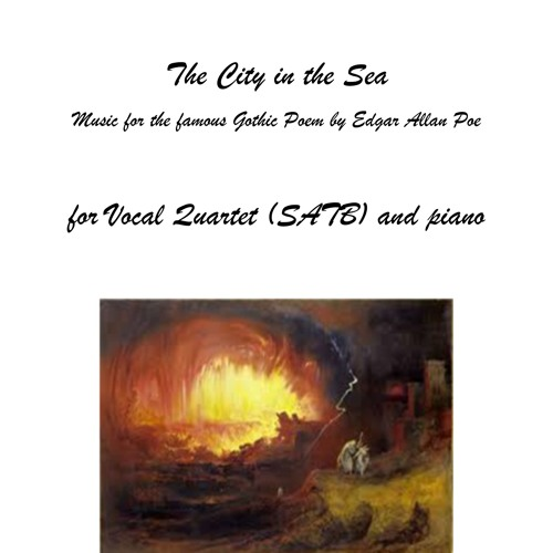 Opus 183 Geert Callaert The City In The Sea for Vocal Quartet (SATB) and Piano