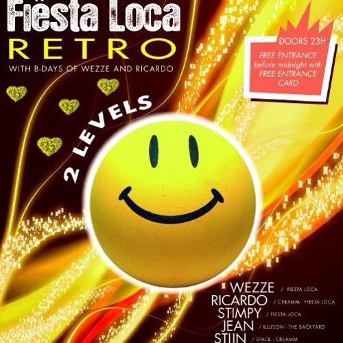 Ricardo @ Fiesta Loca Retro 16.04.10 (Deel1) classix creamm set !