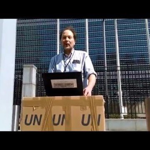 """The UN Is Corrupt,"" by Matthew Russell Lee, Inner City Press (""if it'll change, up to me and you"")"