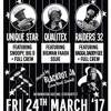 Raiders 32 v Qualitex v Unique Star :  Bristol, UK - 24.03.2017