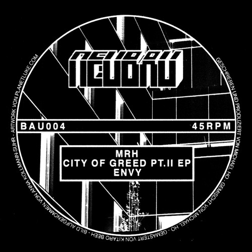 MRH - City Of Greed Pt. II EP - BAU004