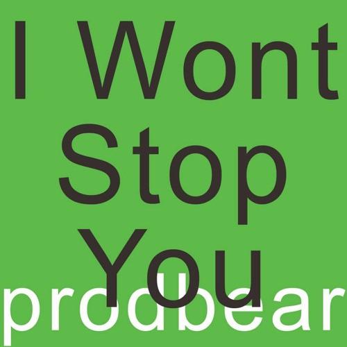 I Wont Stop You