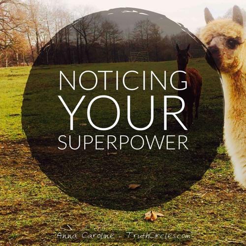 Deine Superpower Bemerken