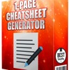 The Official Cheatsheet Generator Review -  Honest Review, Discount and Bonus