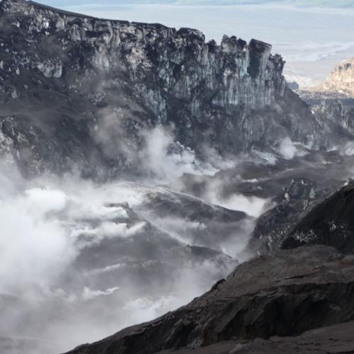 Spiel mit dem Feuer - Wenn Vulkane auf Gletscher treffen