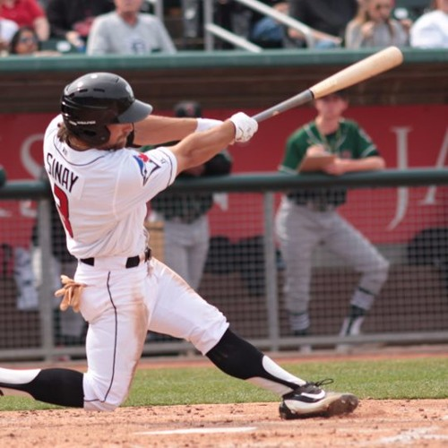 Lugnuts outfielder Nick Sinay, April 12th