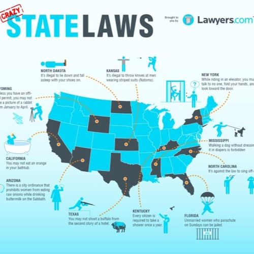 Ep#18: Crazy State Laws
